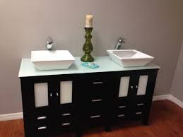 bathroom modern trough bathroom sink with two faucets modern