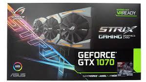 geforce gtx 1070 strix oc graphics card review
