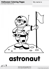 astronaut coloring page coloring pages resource type super simple