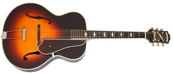 epiphone masterbilt de luxe classic acoustic electric guitar