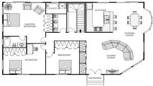 blueprint floor plan house floor plan blueprint simple small plans modern stock vector