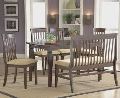 dining room creative dining room bench with back interior design