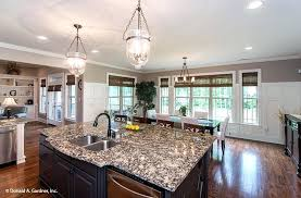 open kitchen with island large open kitchen floor plans kitchen island the home design ideas