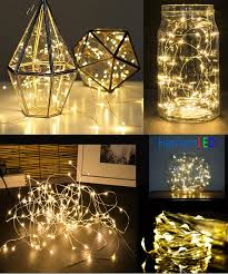 rice lights battery operated 100setsx 10m 100led silver wire string lights dc5v holiday wedding