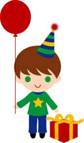 boy birthday birthday clipart