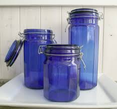 blue kitchen canisters blue kitchen canisters martha stewart cobalt blue ceramic kitchen