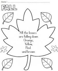 good fall coloring cutting folding sequencing idea craft