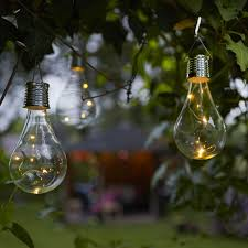 Qvc Outdoor Patio Solar Lights Luxform Pack Of 6 Solar Led Glass Bulb Lights Solar Led Bulb
