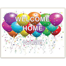 welcome home sign clipart clipartsgram com