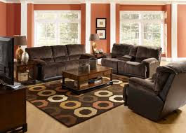 living room decorating with gray and brown combination living