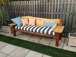Designer Wooden Benches Outdoor by Furniture Garden Bench On Green Grass For Decorate Outdoor Patio