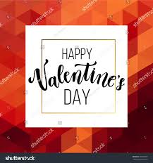 happy valentines day greeting card romantic stock vector 563900605