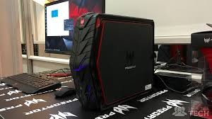 Gaming Desk Accessories by First Look At Acer U0027s Compact Predator G1 Gaming Desktop Pc Let U0027s