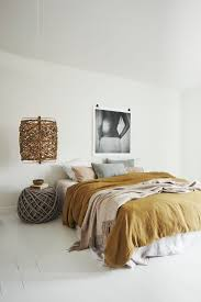 home interior design mustard yellow bedrooms monochromatic