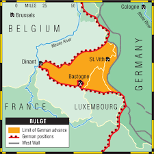 map belgum battle of the bulge by matthew paul infographic