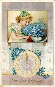 new year s postcards 427 best vintage happy new year images on vintage