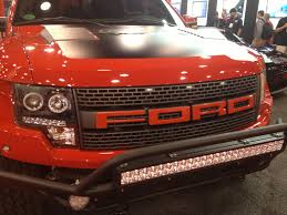 Ford Raptor Red - new raptor grille letters emblem defenderworx home page