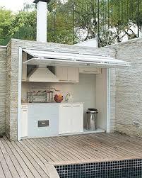 cuisine d été aménagement cuisine d ete exterieure une cuisine dactac chaleureuse en
