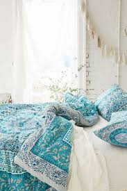 31 bohemian bedroom ideas decoholic bohemian turquoise duvet bedding