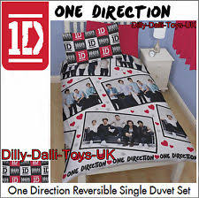 One Direction Comforter Set Children U0027s Girls Heart Bedding Sets U0026 Duvet Covers Ebay