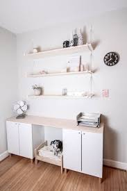 ikea kitchen cabinet hacks from generic office to stylish and productive home office hacks