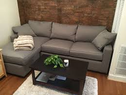 Floor Sofa by York Sofa With Chaise Modern Sectionals Modern Living Room