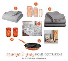 Home Decor Blogspot Orange Home Decor