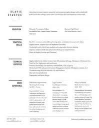 Example Of Creative Resume by Skills For Web Design Resume Samplebusinessresume Com