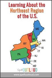 northeastern cus map northeast states and capitals quiz label northeastern us states