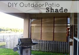 Outdoor Bamboo Shades For Patio by Diy Outdoor Patio Shade Saving The Family Money