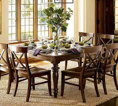 Pottery Barn Round Rug by Metal Support Bracket With Turnbuckle Details Pottery Barn Dining