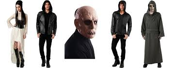 dress like a shadowhunter or silent brother for halloween with