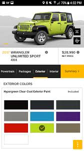 unique jeep colors most unique colour available on modern cars cars