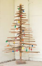 recycled handmade wood tree thelightshop