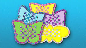 roylco r16028 butterfly weaving mats youtube