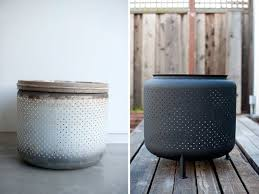 Washing Machine Firepit Turn A Washing Machine Drum Into A Backyard Pit In Just 1