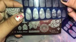 it nail art stamping plates unboxing youtube