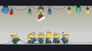 minion christmas light gif minions christmas xmas discover