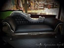 Leather Chaise Lounge Sofa Black Chaise Lounge Indoor Foter