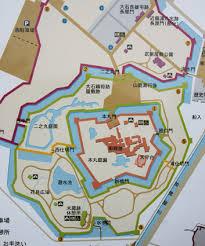 Himeji Castle Floor Plan Ako Castle Japanvisitor Japan Travel Guide