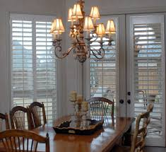 Sliding Louvered Patio Doors Shutters Wood White French Doors Traditional Dining Room Jpg