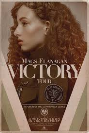 check out a pair of vintage victory tour posters for the hunger