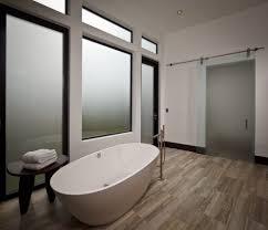 Barn Doors Houston Houston Glass Barn Doors Bathroom Modern With Black Baseboards