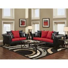 red and black living room set red and black living room set stylish red living room set cardinal