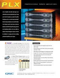 download free pdf for qsc plx 2402 amp manual