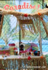 treat your friends to a hawaiian staycation easy party ideas