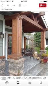 car porch dimensions cedar columns will only cost around 150 to make 3 to update my