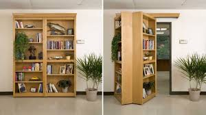 four words secret folding bookshelf door u0027nuff said