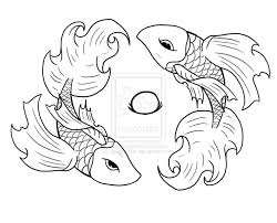 betta fish free coloring pages on art coloring pages