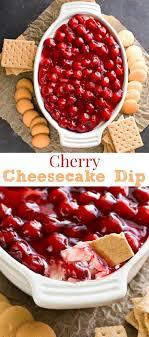 cherry cheesecake dip thanksgiving food list 15 creative food